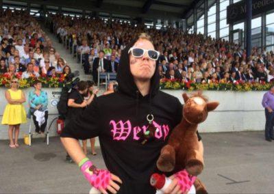 Daniel Danger als härtester Reitsportultra der Welt bei Reit-EM in Aachen!